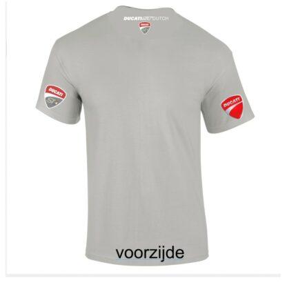 ST-Ducati T-shirt wit Lady-fit