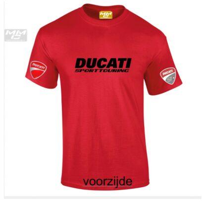 ST-Ducati T-shirt Rood