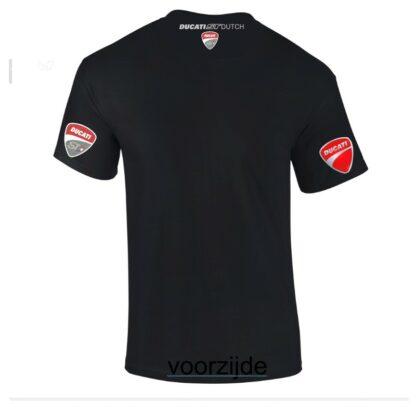 ST-Ducati T-shirt Rood Lady-fit