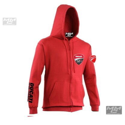 ST-Ducati Zoodie Rood