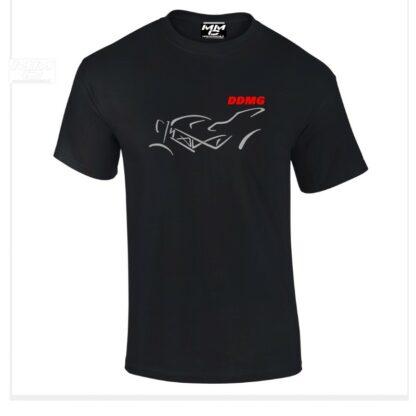 DDMG Tshirt zwart