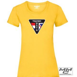 DSTG LOGO triumph lady-fit tshirt