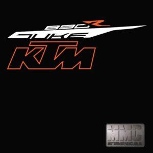KTM DUKE890R close-up