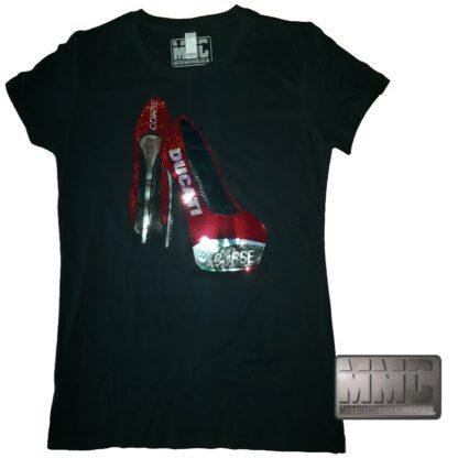 Ducati Corse High Heels T-shirt Lady-Fit