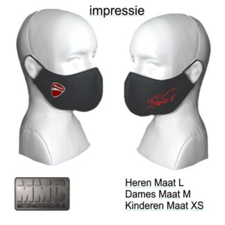 Ducati Monster mondkapje-mondmasker rood