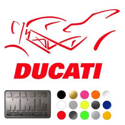 Monster Ducati Sticker